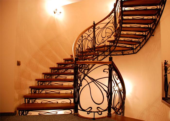 лестница кованая