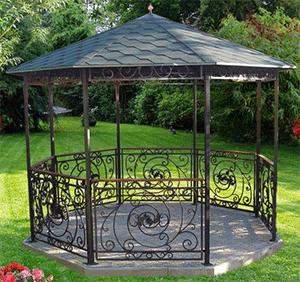 кованая садовая мебель в Екатеринбурге