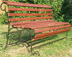 кованая мебель для сада в Екатеринбурге