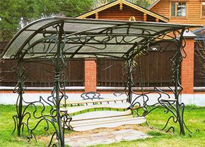 кованые качели садовые в Екатеринбурге